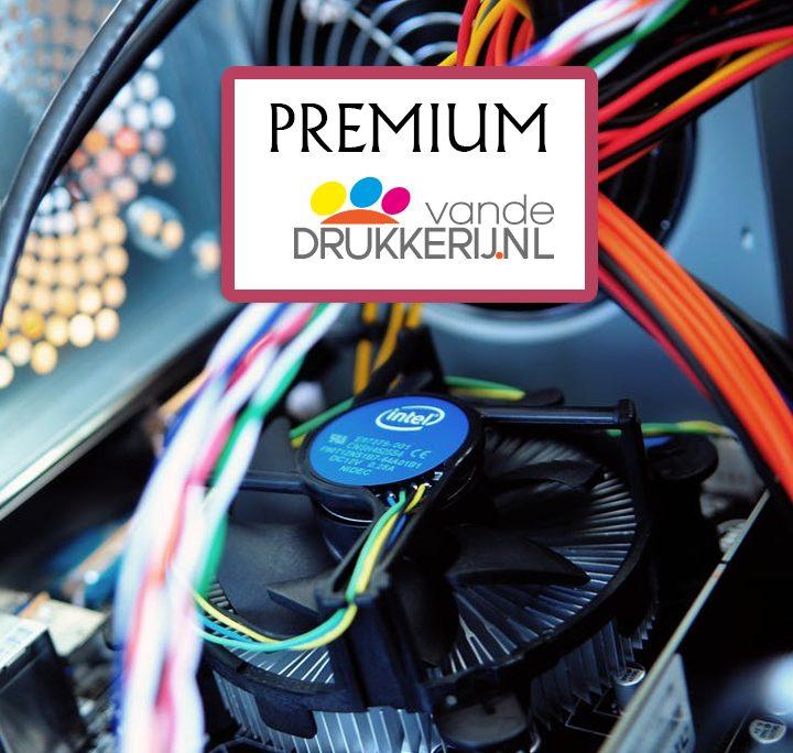 Premium ICT pakkert inclusief website laten door vandedrukkerij.nl